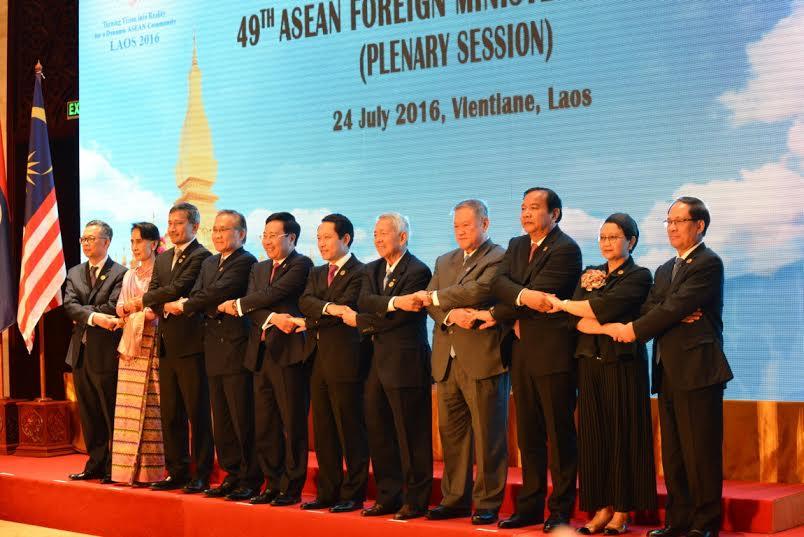 AMM-49: les ministres des AE inquiets par la tension en mer Orientale