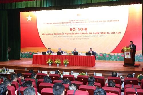 Un partenariat pour le déminage au Vietnam