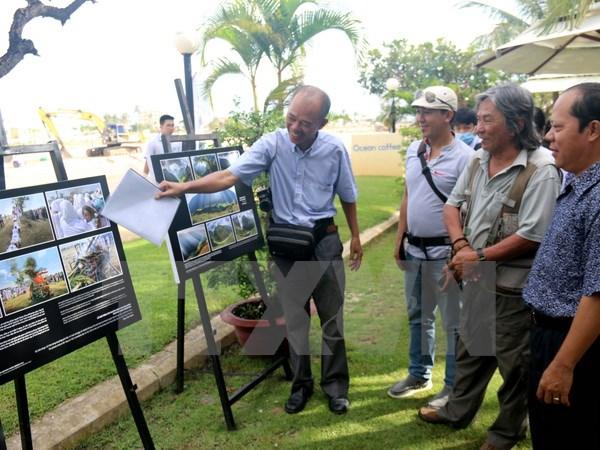 Vernissage de l'exposition de photos sur le patrimoine du Vietnam 2016