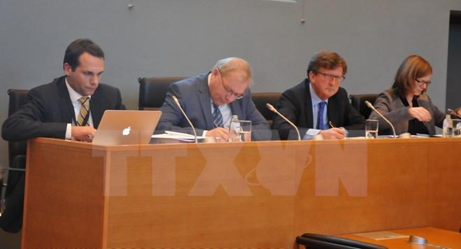 Nghị viện vùng Wallonie, Vương quốc Bỉ thảo luận Hiệp định thương mại tự do Việt Nam - EU
