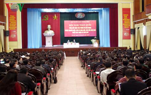 ผลักดันการประชาสัมพันธ์การต่างประเทศเพื่อสร้างสถานะและภาพลักษณ์หน่วยงานการทูตเวียดนาม