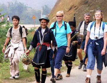 Wisatawan yang berwisata di Vietnam mencapai kira-kira 4,7 juta orang