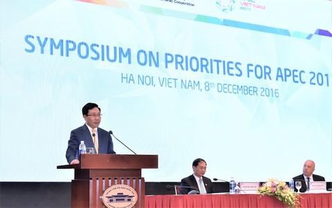ກອງປະຊຸມສຳມະນາເລີ່ມດຳເນີນການເຄື່ອນໄຫວຕ່າງໆຂອງປີ APEC 2017