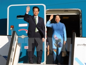 6/3/2015 - 15:27   (VOVworld) – Prime Minister Nguyen Tan Dung arrived in Lisbon early Wednesday for a two-day visit to Portugal at the invitation of Prime Minister Pedro Passos Coelho.    More