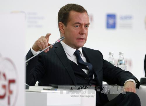 "PM Rusia, Dmitri Medvedev  terpilih lagi menjadi Ketua Partai ""Rusia Bersatu"""