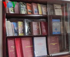 チャム族のコミュニティの貴重な本書の保存場所であるインラハニ図書館