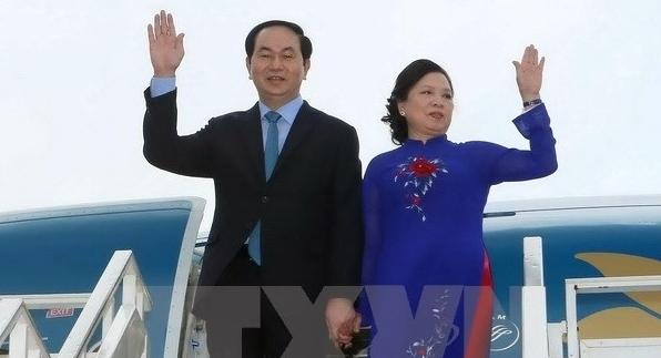 クアン国家主席によるブルネイとシンガポール国賓訪問