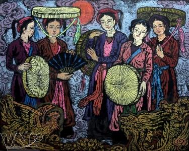 北部バクニン省の民謡