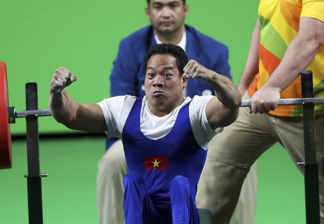 ベトナム史上初のパラリンピック金メダルを獲得したレ・ヴァン・コン選手