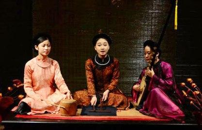 ベトナムの伝統芸能「カーチュー(ca tru)」の曲