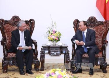 フック首相、在ベトナムUNDP代表及びJCCI会頭らと会見