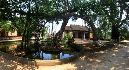 ベトナム北部の村の特徴