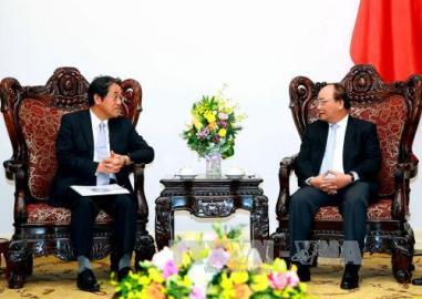フック首相 日本大使と会見