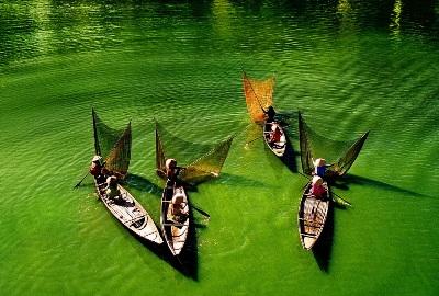 ベトナム国土の美しさを歌う曲