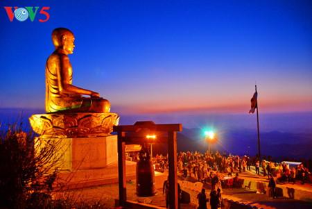 イェントゥ、仏門の日の出