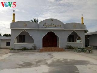 タイニン省チャム族のモスク