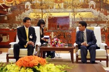 日本、ハノイ市と防災の経験交換