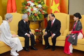 フック首相、天皇皇后両陛下と会見