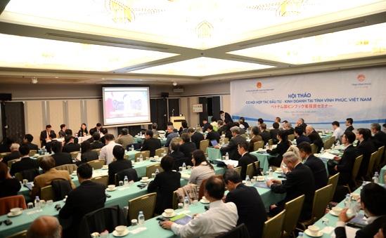 東京で「ビンフック省への投資チャンス」シンポジウム