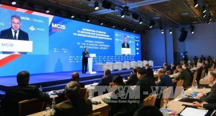 モスクワでの国際安全保障会議