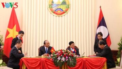 ベトナム・ラオス共同声明