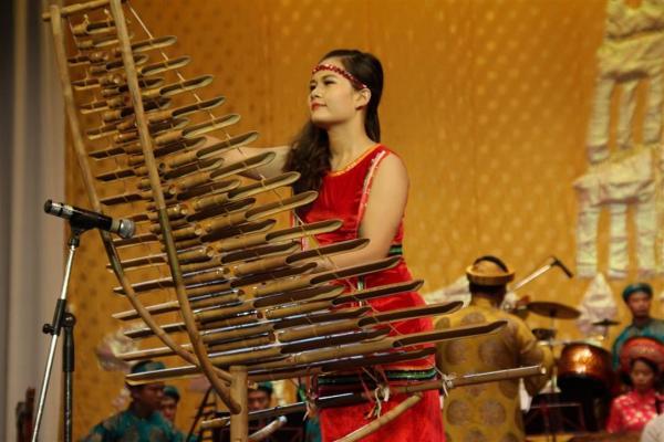 Beberapa jenis instrumen musik Vietnam  melalui konser musik tradisional Vietnam