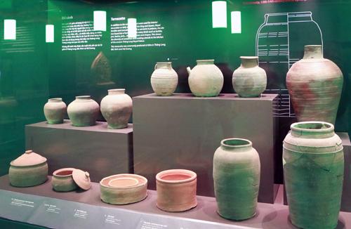 Pameran arkeologi menambah tenaga terhadap nilai global yang menonjol dari situs peninggalan sejarah Benteng Kerajaan Thang Long