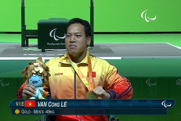 Atlet Le Van Cong, pencipta keajaiban bagi olahraga Vietnam