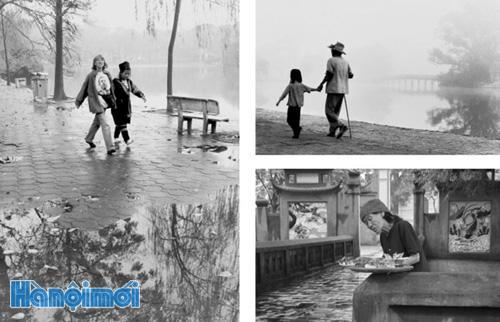 Fotografer Nguyen Huu Bao-Juru potret  keseharian dari kota Hanoi
