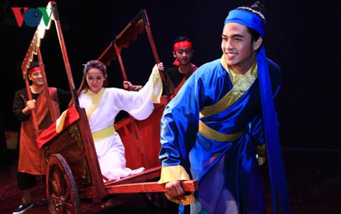 Teater Drama Vietnam mementaskan drama baru untuk Truyen Kieu