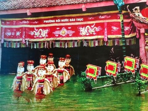 Ciri khas  dari seni wayang golek air desa Dao Thuc, kabupaten Dong Anh, Kota Hanoi