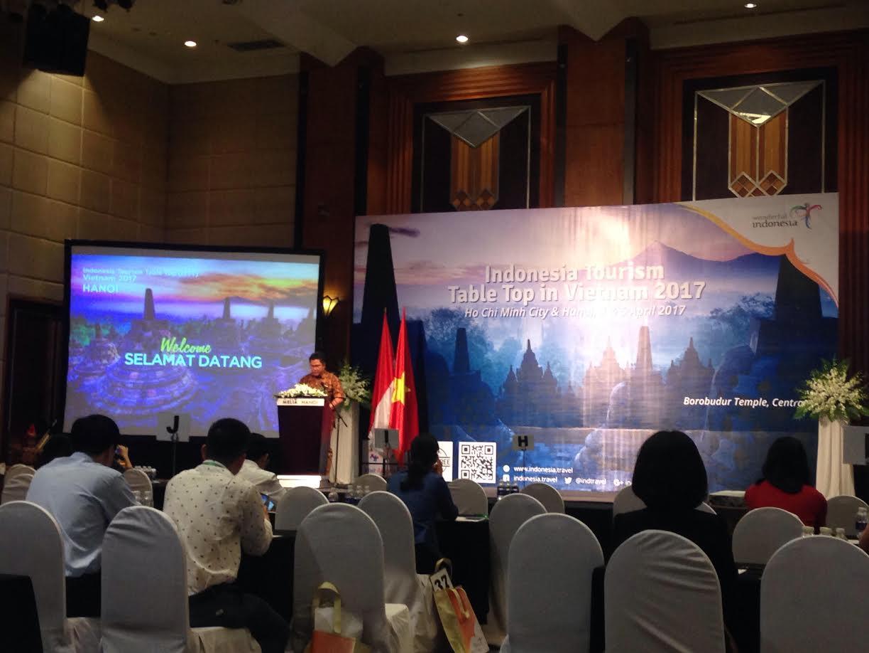 Indonesia mendorong sosialisasi pariwisata di Vietnam