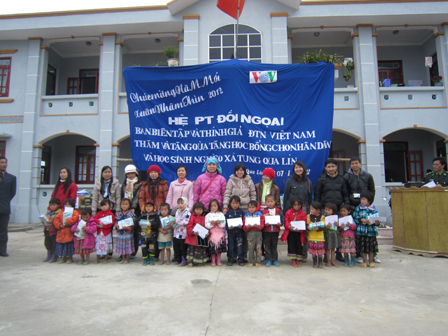 Warm Tet Holiday for ethnic people in Tung Qua Lin Commune, Lai Chau