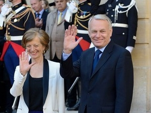 Congratulations sent to newly-appointed French Prime Minister