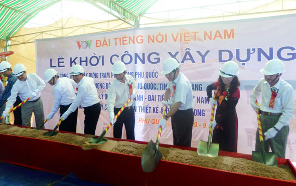 Construction of VOV's FM radio station in Phu Quoc Island begins