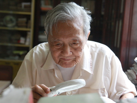 Hanoiologist Vu Tuan San and 100 years with Hanoi