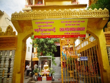 Pitu Khosa Rangsay Pagoda, support center for poor students in Mekong Delta