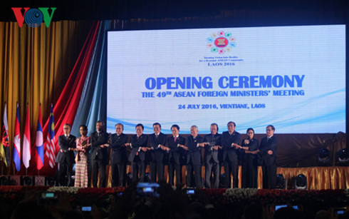49th ASEAN Foreign Ministers Meeting opens in Vientiane, Laos