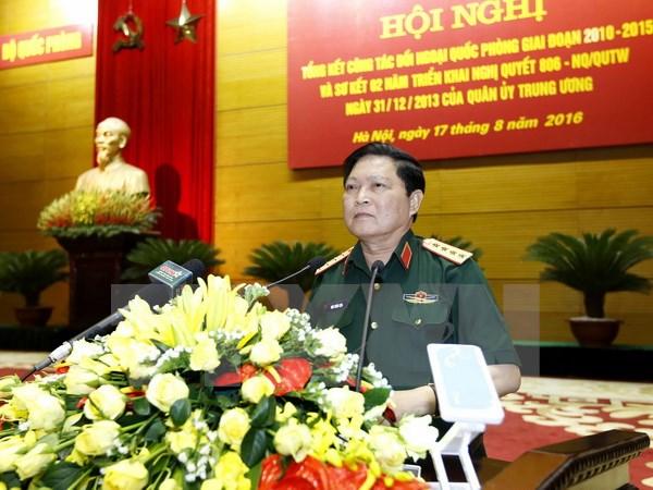 High-ranking Vietnamese military delegation visits China