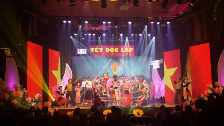 VOV's art program on National Day