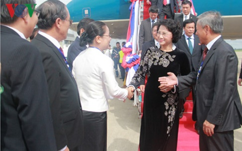 NA Chairwoman begins official visit to Laos