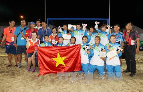 Vietnam triumphs at Asian Beach Games