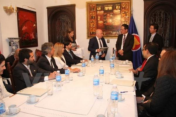 ASEAN boosts cooperation with Argentina