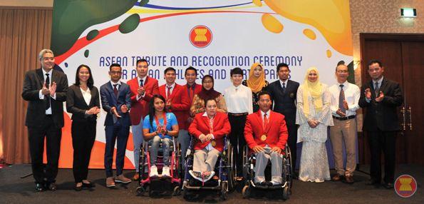ASEAN athletes at Rio Olympics, Paralympics honored
