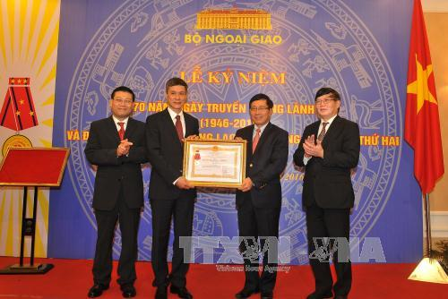 Consular sector marks its 70th founding anniversary