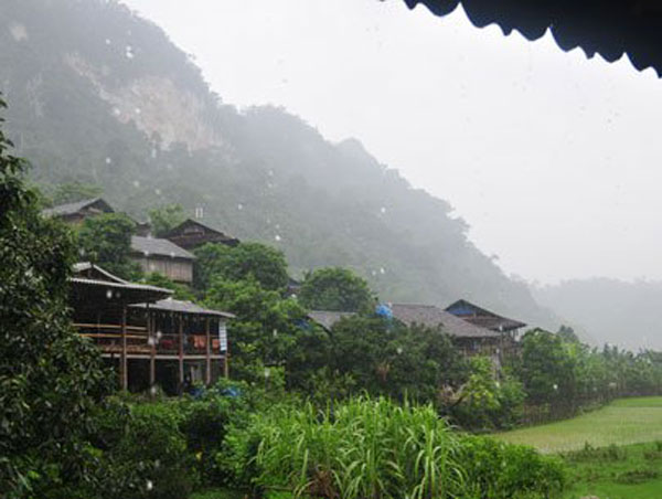 Pac Ngoi, a cultural village in Bac Kan famous for homestay tourism