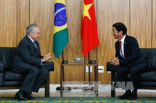 Brazil wants to boost cooperation with Vietnam
