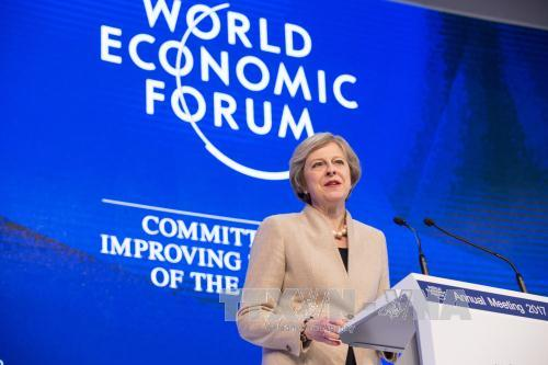 Theresa May: UK to continue leading role in global economy after EU exit