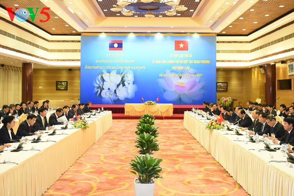 Vietnam, Laos pledge implementation of high-level agreements