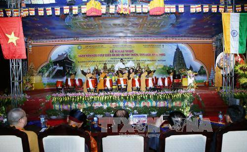 India Buddhism Cultural Day opens in Vinh Phuc